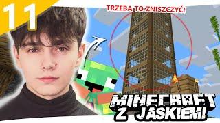 BUNT NA SERWERZE! - Minecraft z Jaśkiem #11 | JDABROWSKY