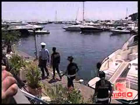 Napoli - Gdf, controlli Yacht nel porto turistico di Mergellina (live 06.08.12)