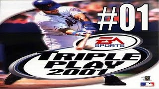 Let's Play Triple Play Baseball 2001 #01 - Extreme HR Derby!