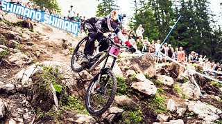 Myriam Nicole does it again: 2nd win in a row at UCI MTB World Cup 2017 | Lenzerheide, Switzerland