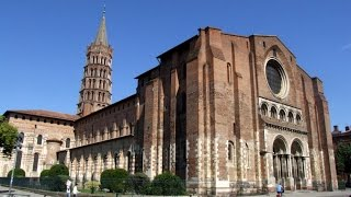 Basilica of St. Sernin, Toulouse, Midi-Pyrénées, France, Europe