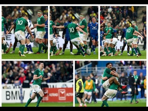 Irish Rugby TV: 41 Phases - Johnny's Drop Goal In Paris