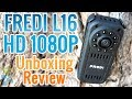 FREDI L16 HD 1080P Mini Camera With Night Vision Video Recorder - Unboxing & Review