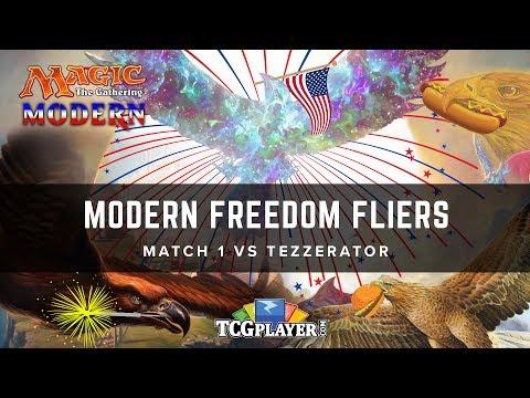[MTG] Modern Freedom Fliers | Match 1 VS Tezzerator