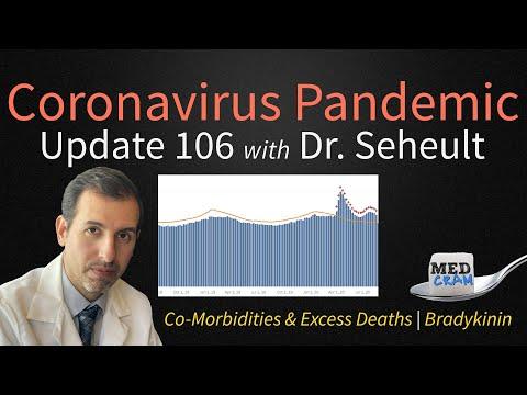 COVID 19 Update Update 106: Comorbidities And Excess Deaths; Bradykinin And Coronavirus