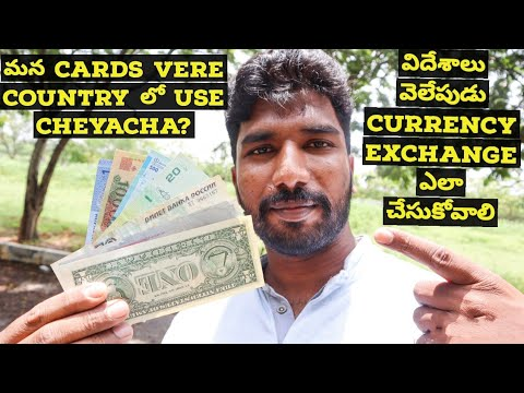 How to exchange Indian currency || Telugu Traveller