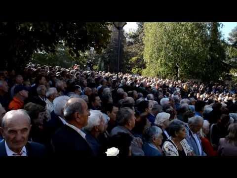 Jovanka Broz funeral in Belgrade