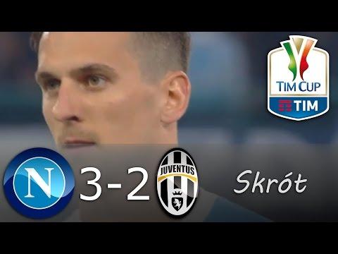 ⚽Napoli 3-2 Juventus - Skrót [05.04.2017] - Coppa Italia - Półfinał (REWANŻ) - |POLSKI KOMENTARZ|