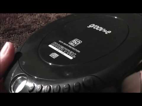 groov-e Personal CD player