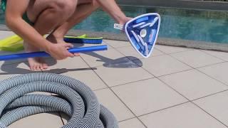 Как чистить бассейн пылесосом