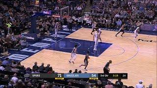 3rd Quarter, One Box Video: Memphis Grizzlies vs. San Antonio Spurs