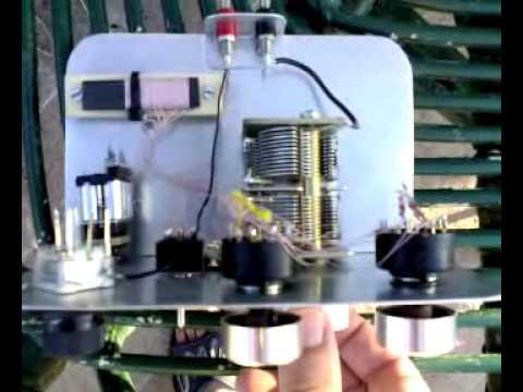 Radio vaticana (vatican radio) on my crystal Set - Foxhole radio