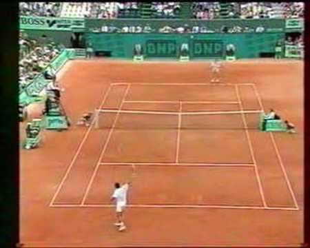 Sampras Cherkasov French Open 1993