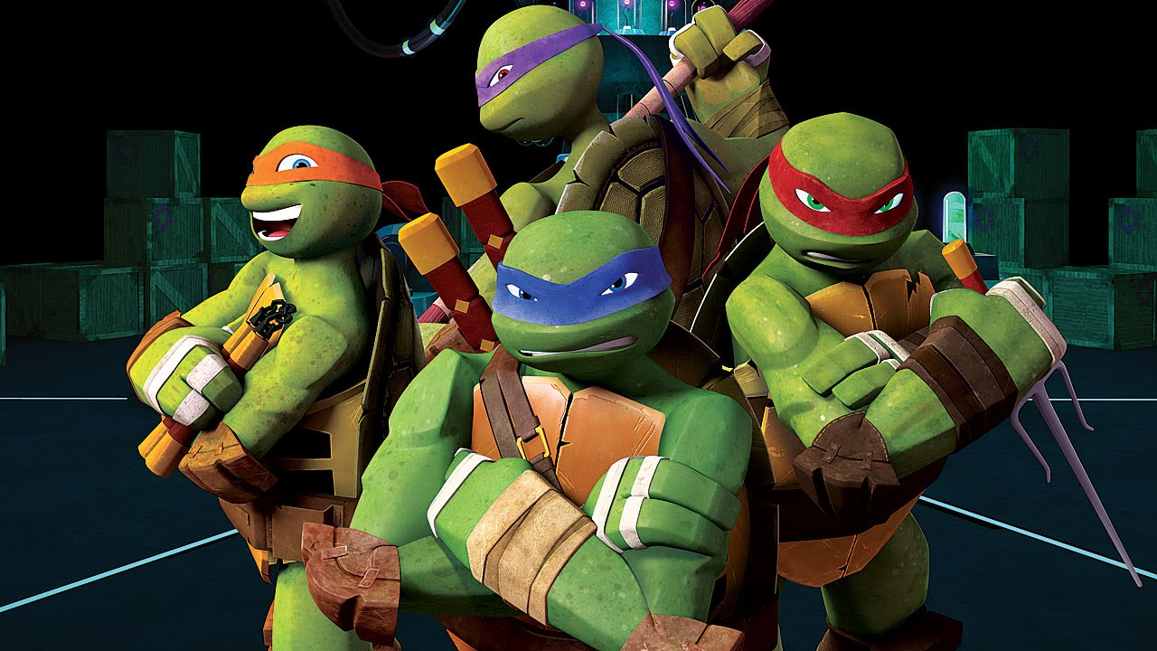 Teenage Mutant Ninja Turtles Cartoon Movie Games New Episodes TMNT - YouTube