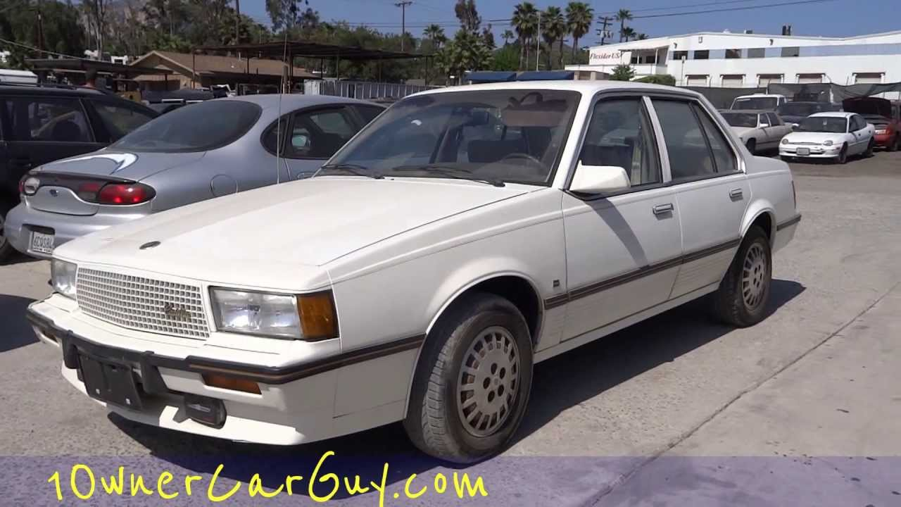 1 Owner Cadillac Cimarron First Start Up & Test Drive D ...