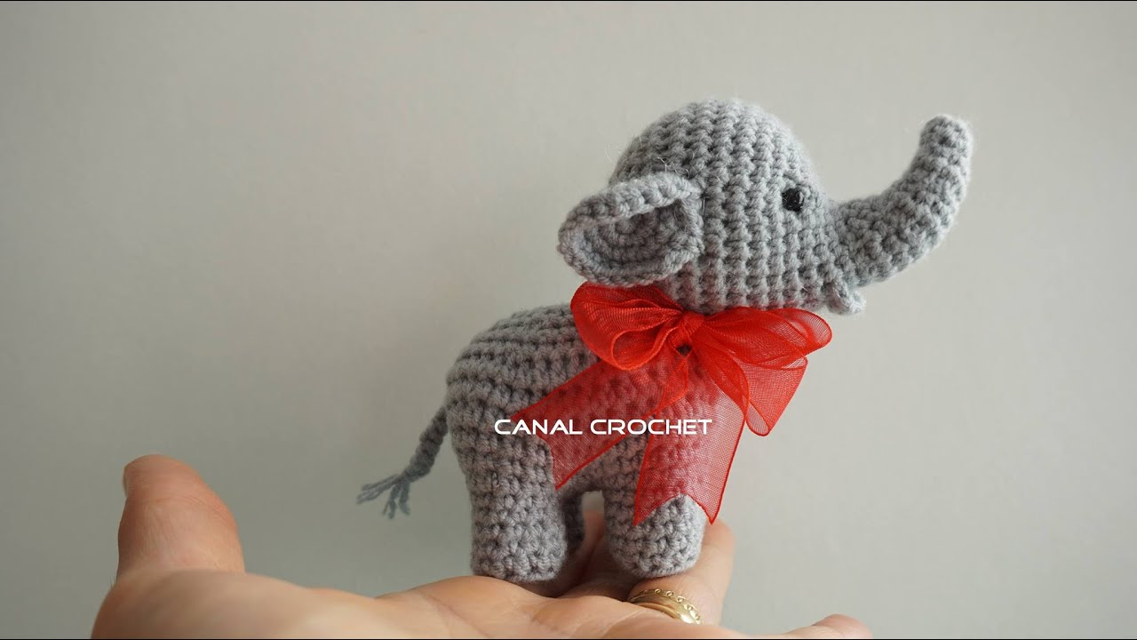 Elefante Amigurumi Tutorial Youtube