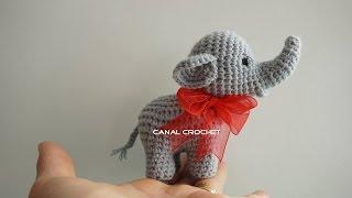 Elefante amigurumi tutorial