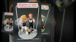 Marathon Runners Wedding Cake Toppers | wedding cake toppers