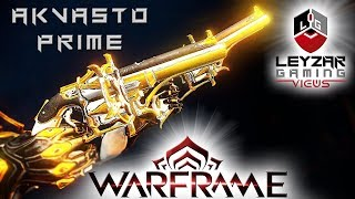 Akvasto Prime (Build) - The Double Six Shooters (Warframe Gameplay)