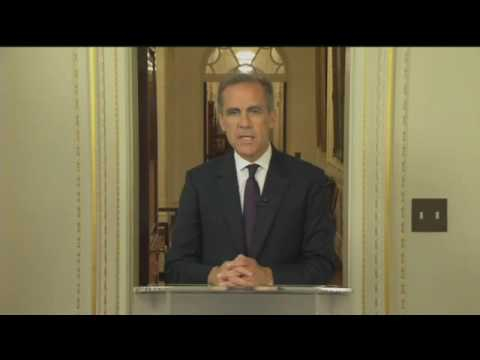 Headline Politics - Mark Carney Responds to Brexit Vote