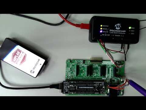 CAN BUS基礎 & Harmony(使用ATSAMC21)– 實驗講解