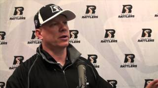 7-20-13; Arizona Rattlers Vs. Chicago Rush, Post Game Press Conference
