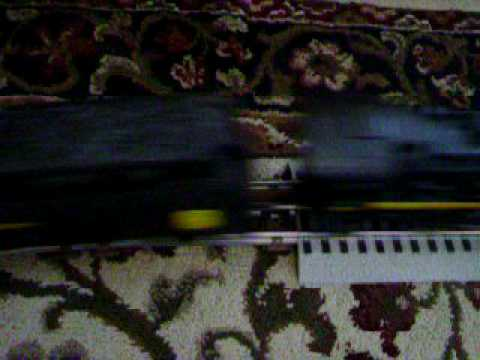 Lionel 027 to Fastrack adapter first run