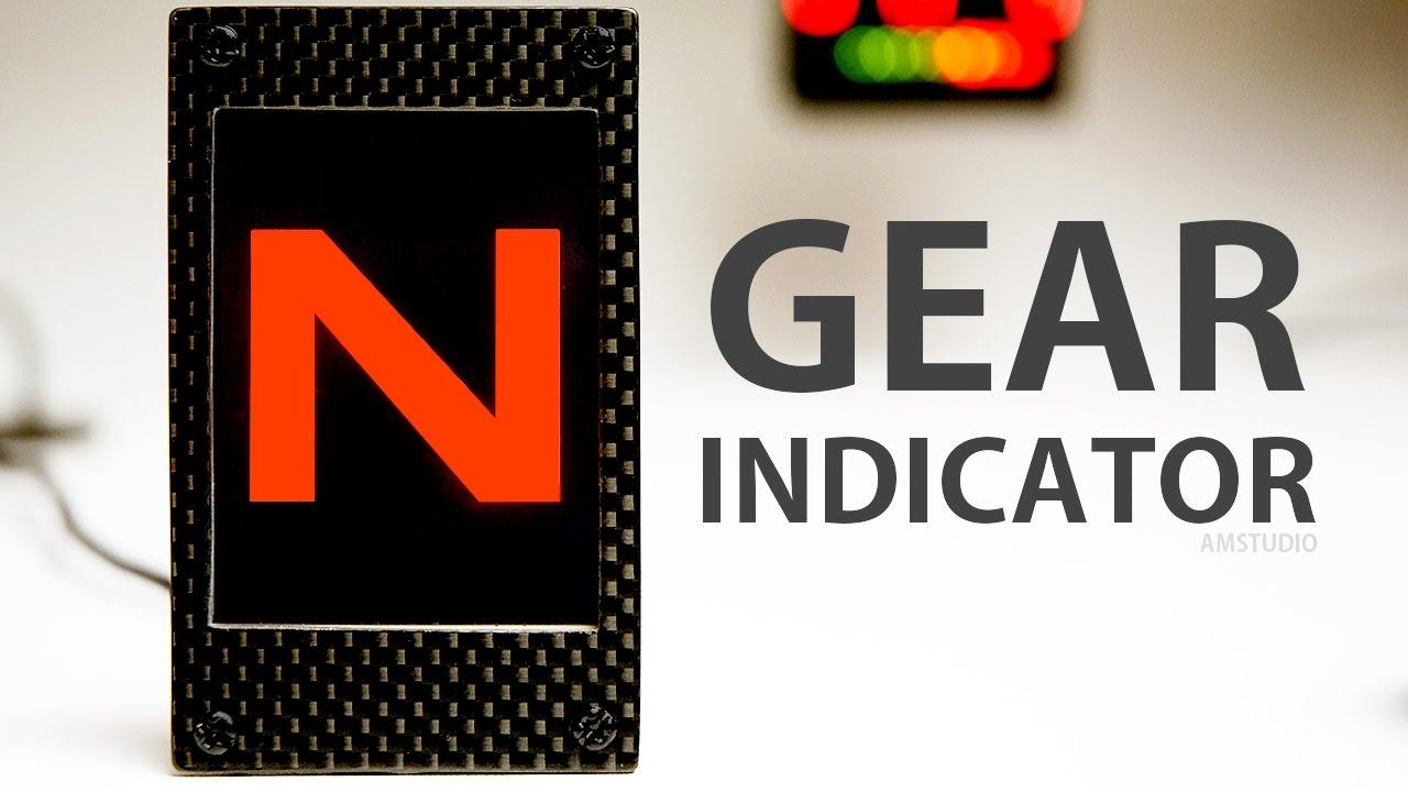 MAKE A GEAR INDICATOR SIM RACING DASH - DIY