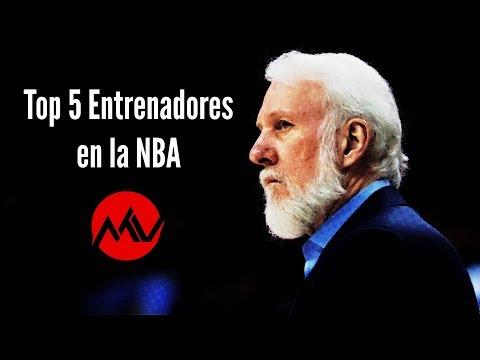 Top 5 Coaches en la Historia de la NBA