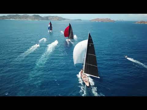 2018 St. Barths Bucket Regatta Friday