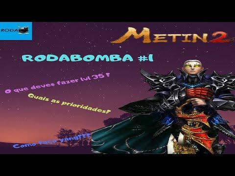 Metin2 PT - #RODABOMBA #1 - Dicas e como fazer yang a lvl. 35?