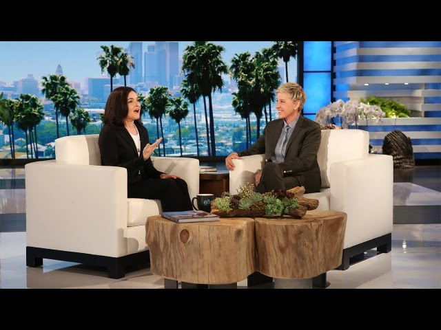 Facebook COO Sheryl Sandberg\'s First Sit-Down with Ellen