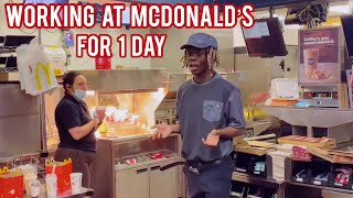 Working At McDonald's for 1 Day 🍟