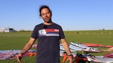 Rent a sail 40 Roberto Ricci Riggs Segel und Windsurfboards in der Vermietung von Norddeich