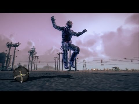 How to fly on land in Saints Row IV
