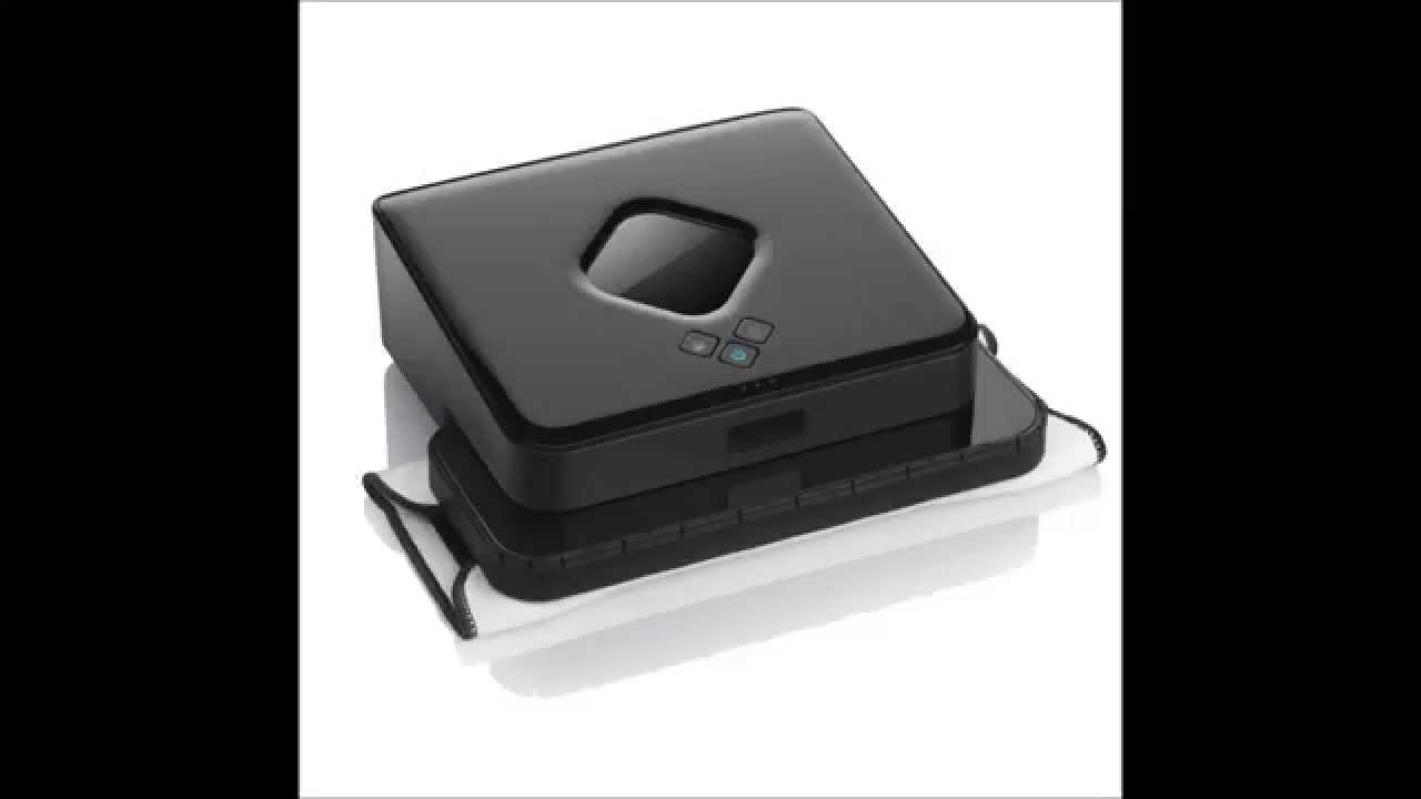 iRobot Braava 380t Review - iRobot Braava 380t Floor Mopping Robot - YouTube