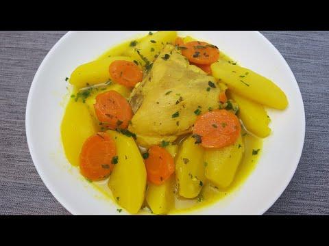 recette-aux-pommes-de-terre-et-poulet