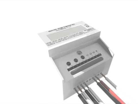 EKM Metering V.3 Omnimeter - Single Phase 120/240V 3-Wire System