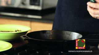 Marinated Lamb Loin With Olive Relish Video Recipe