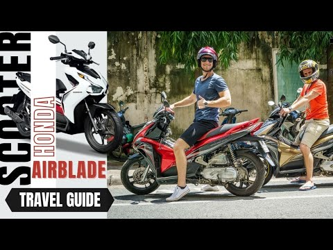 Buy a scooter in Vietnam the Honda Airblade Auotmatic
