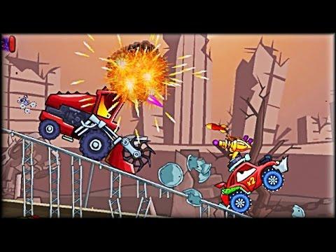 Car Eats Car 2: Deluxe - Game Walkthrough (full)
