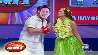 Celebrity Bluff: Yaya Bad meets Alden Richards?
