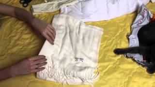 Шарф и митенки (манжеты) к куртке с aliexpress ( № 84) / Примерка Распаковка Обзор / Vanilla Moon