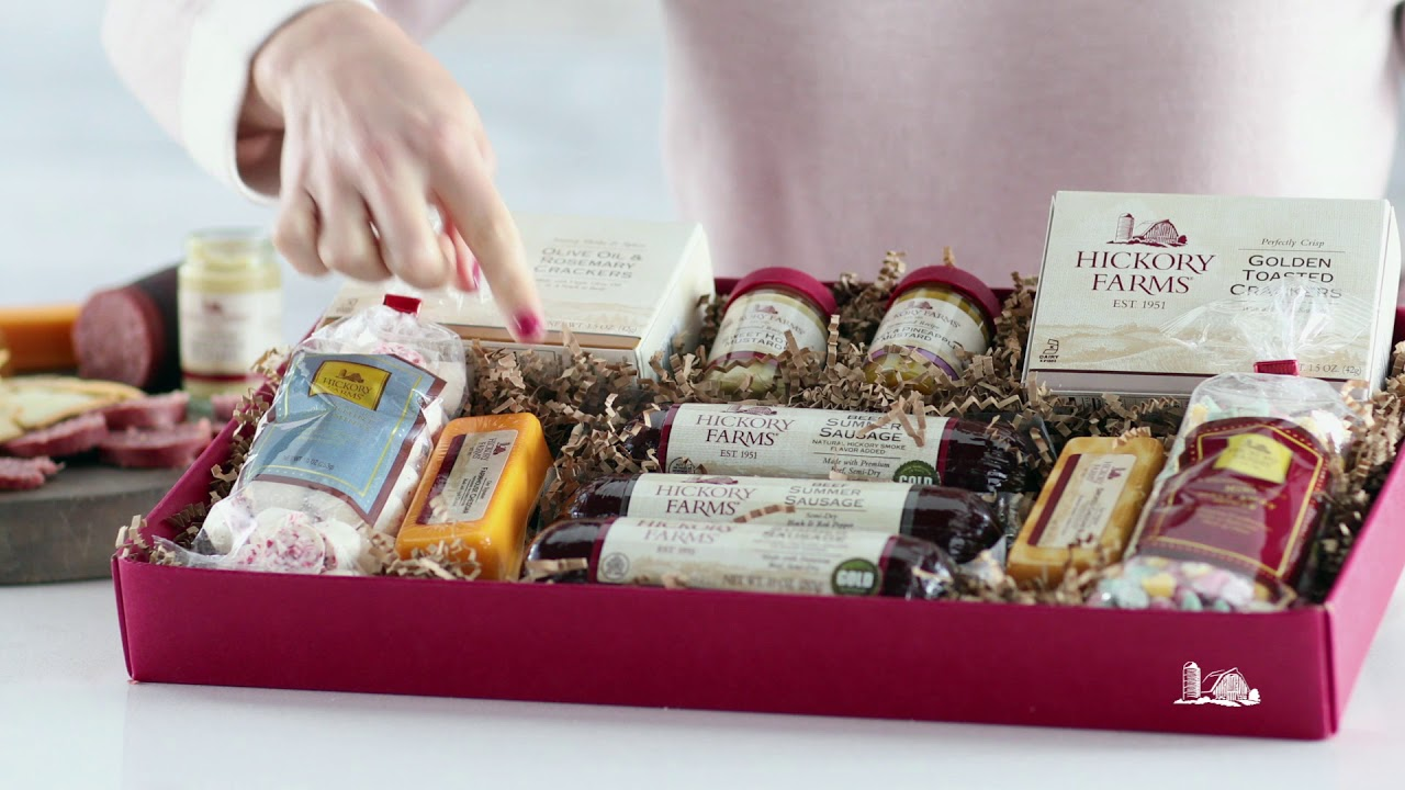 Hickory Farms Meat & Sweet Gift Box