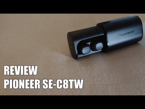 Review Pioneer SE-C8TW Nuevos Auriculares Bluetooth Inalambricos