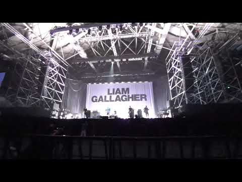 Liam Gallagher Beijing Full Gig August 10th 2017 (part 1)