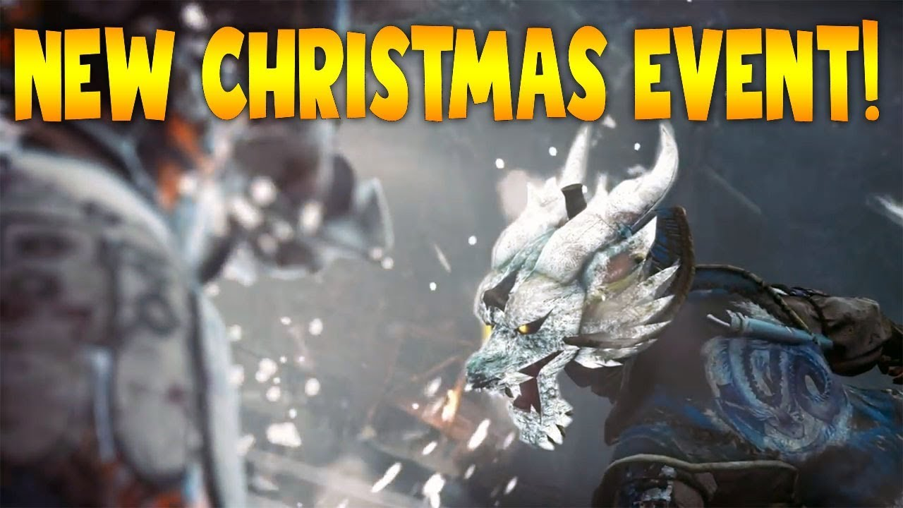 For Honor Christmas Event 2020 For Honor: NEW CHRISTMAS EVENT DETAILS! FROST WIND FESTIVAL!   YouTube