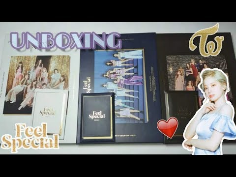 """[UNBOXING] TWICE """" Feel Special"""" 