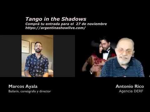 Tango in the shadows el próximo 27 de noviembre por streaming