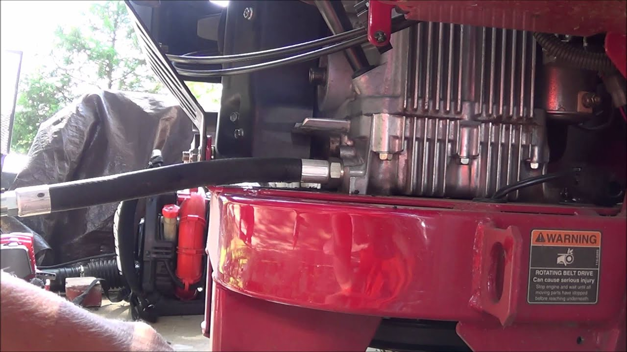 Zero Turn Oil Change Toro Z-Master/Exmark Lazer-Z